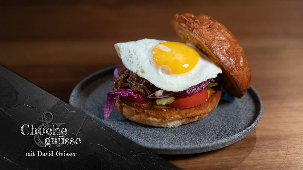 David Geisser Pulled-Beef-Burger