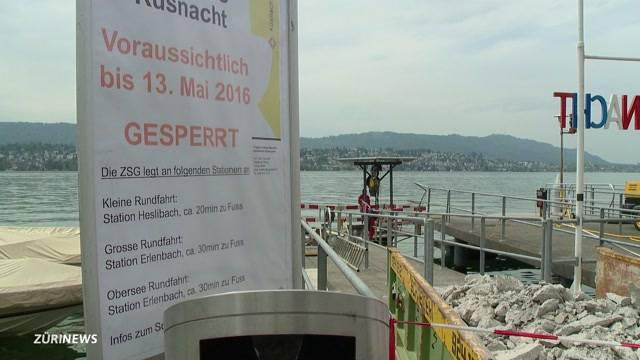 Schiffssteg-Reparatur verzögert sich