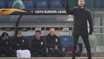 Frankfurts Coach Adi Hütter hatte auch bei Lazio Rom alles richtig gemacht