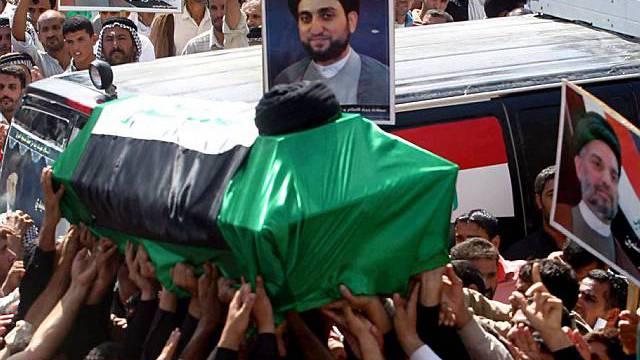 Beisetzung des Schiiten-Führers Al-Hakim