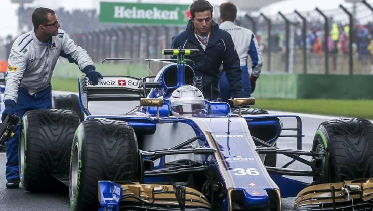 Antriebslos: Das Sauber-Team steht auf dem letzten Platz der Konstrukteurswertung.