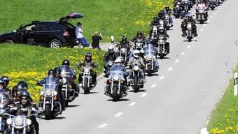 Am 19. Love Ride kam eine halbe Million Franken zusammen (Archiv)