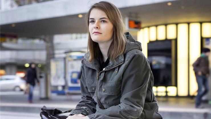 Hazel Bruggers emotionsloses Gesicht ist zu ihrem Markenzeichen geworden.GAETAN BALLY/Keystone