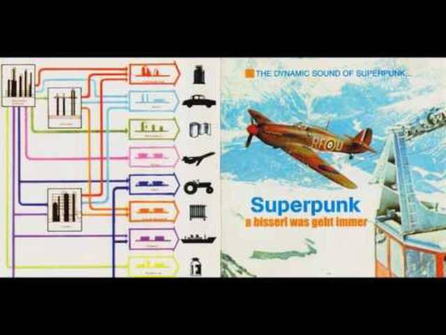 Superpunk - Matula hau mich raus, dieses Mal mit etwas verständlicherem Text