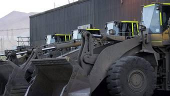 Nichts geht mehr in der Kupfermine in Chile: Warnstreik der Bergbauarbeiter