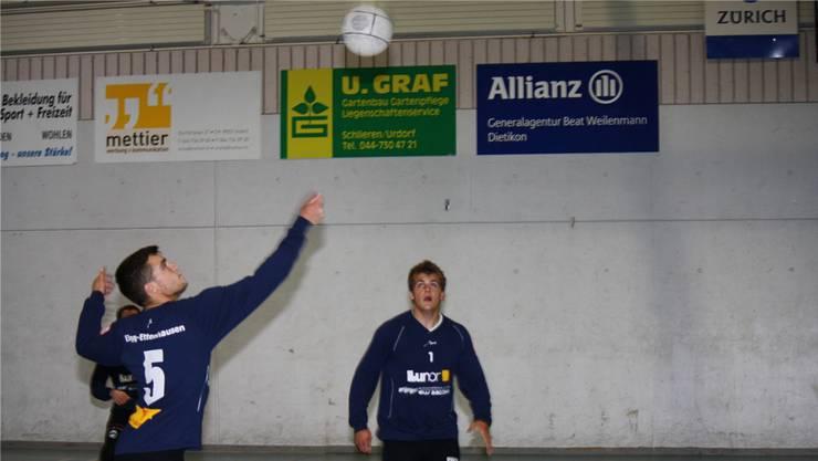 Zeigten ihr Können: Elgg-Ettenhausen gehört zu den Top-Five im Schweizer Faustball. Aerni
