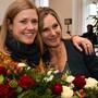 Grüner Sieg bei den Baselbieter Ständeratswahlen: Maya Graf (rechts) ist neue Ständerätin, Florence Brenzikofer ihre Nachfolgerin als Nationalrätin.