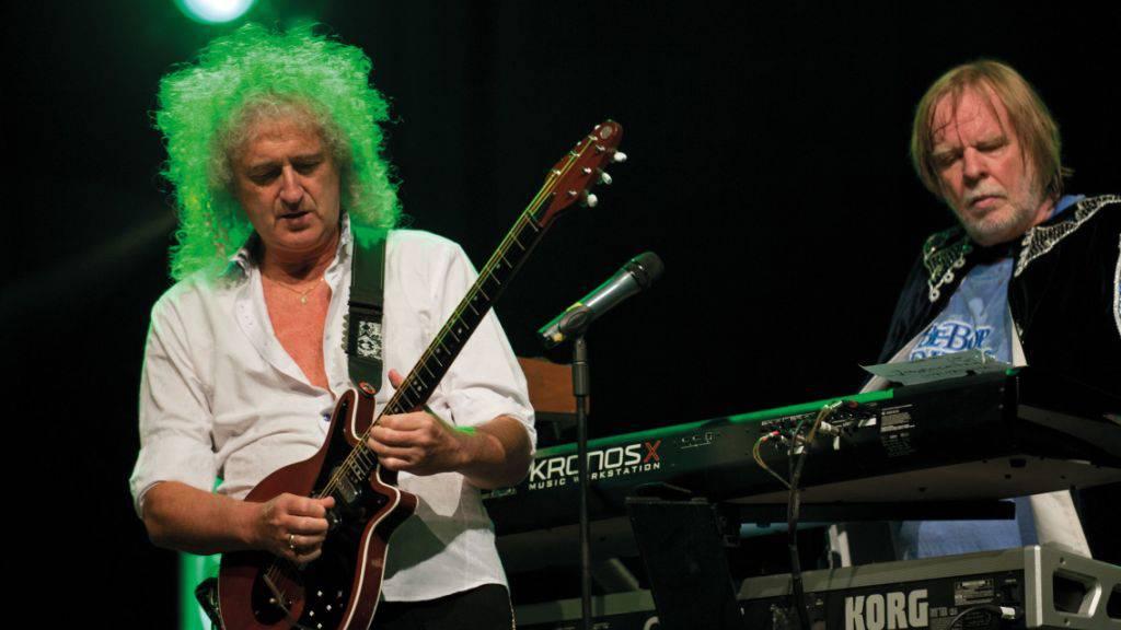 Queen-Gitarrist Brian May und Yes-Star Rick Wakeman gehören zu den Stargästen am Starmus-Festival.