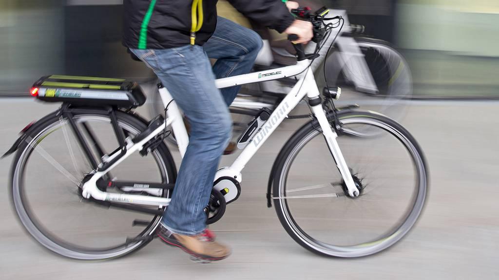 Betrunkener E-Bike-Fahrer gestürzt – leicht verletzt