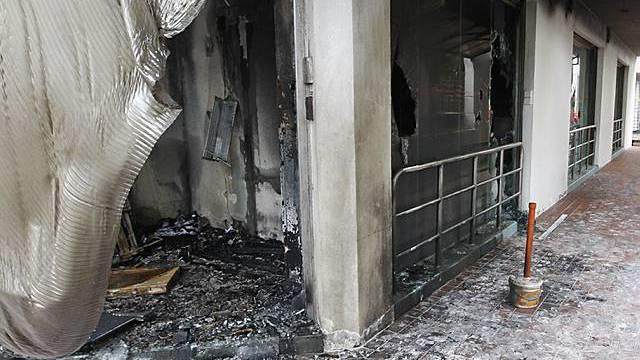 Zerstörte Kirche in Malaysia