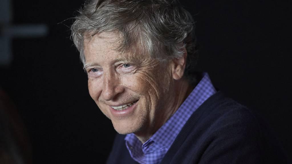 Microsoft-Gründer Bill Gates engagiert sich mit Milliarden-Investitionen für den Klimaschutz. (Archivbild)