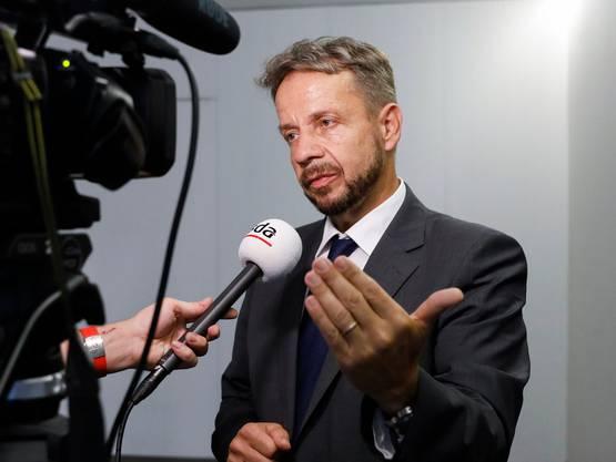 Gilles Marchand, Generaldirektor der SRG SSR, verdient über eine halbe Million Franken im Jahr.