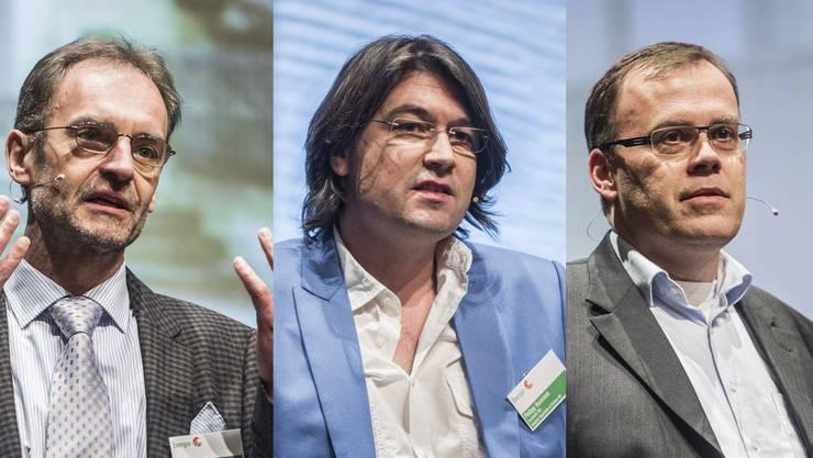 Philipp Husistein, Architekt und Planer. Martin Heuschkel, Inhaber der MetApp AG.