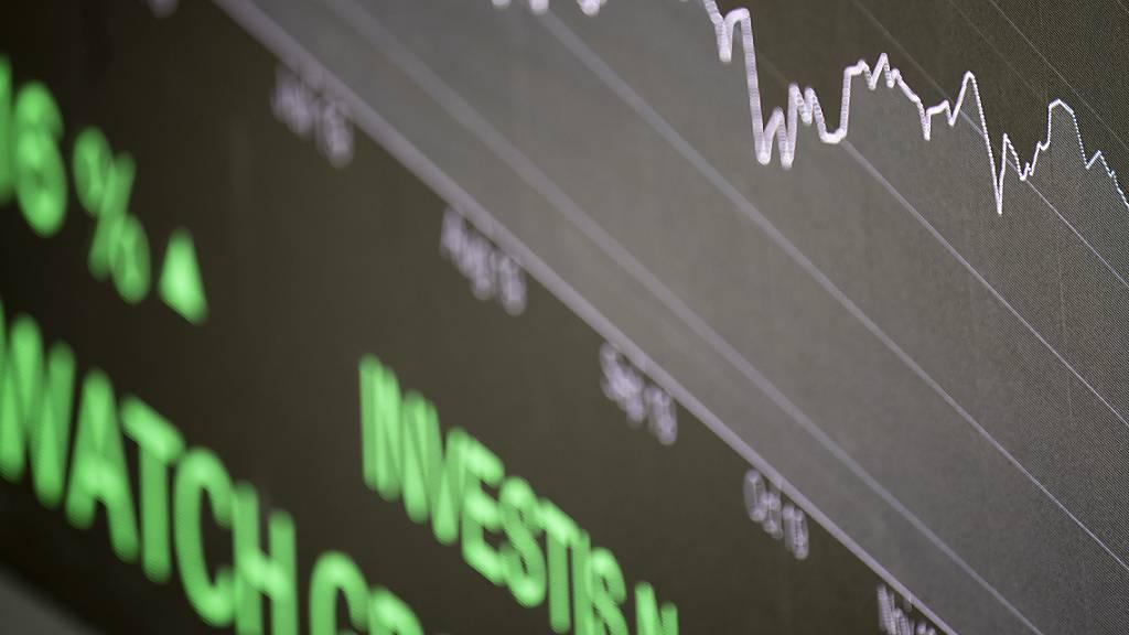 Aktien-Leitindex SMI steht auf Jahressicht wieder im Plus