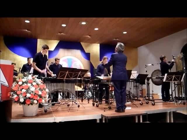 José de Mena und Collective Percussion an der Verleihung der Grenchner Kulturpreise 2016