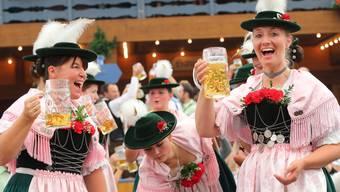 Impressionen vom Trachtenumzug am Münchner Oktoberfest