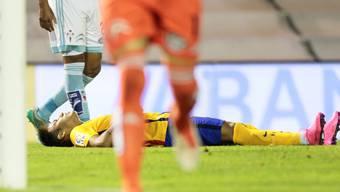 Barcelonas Neymar kann es nicht fassen: 1:4 gegen Celta Vigo