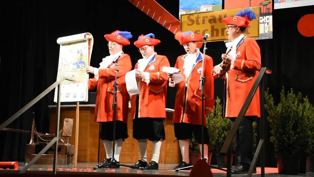 Strauschnitt 2020 im «Grand Casino Wohlen»: Vor den Witzen der Kammersänger war nichts und niemand sicher.