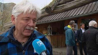Im Interview bei Tele M1: die Verlierer und die Sieger der Abstimmung über die Waldinitiative.
