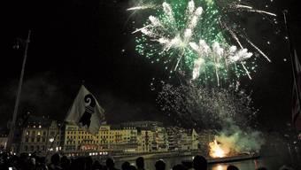 «Schutzmassnahmen nicht umsetzbar»: Schon Ende Oktober sagte Basel-Stadt das Silvester-Feuerwerk ab. Privat Raketen steigen lassen bleibt aber in beiden Basel grundsätzlich erlaubt.