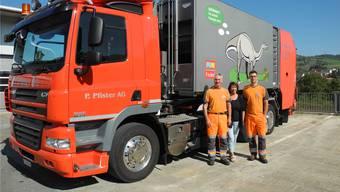Die P.Pfister AG ist ein Familienunternehmen: Neben Peter Pfister (l.) sind auch seine Ehefrau Vreni und Sohn Pascal im Unternehmen tätig. Marc Fischer