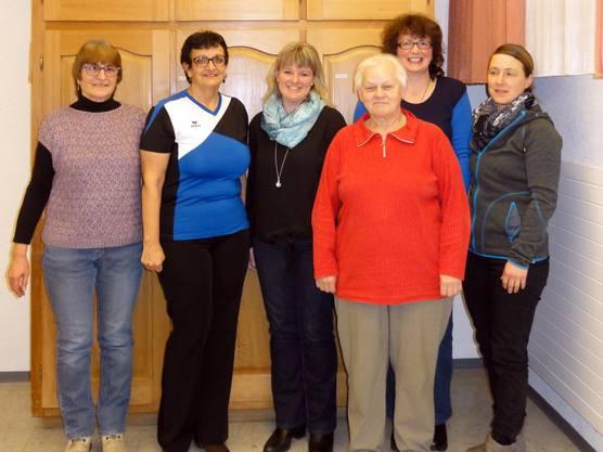 Vorstand mit alten und neuen Mitgliedern