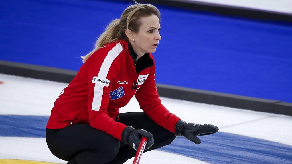 Schweizer Curlerinnen im WM-Halbfinal gegen die USA