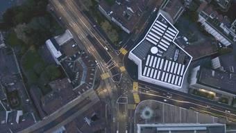 Horizonterweiternd: Drohnenflug über den Erweiterungsbau des Kunstmuseums Basel