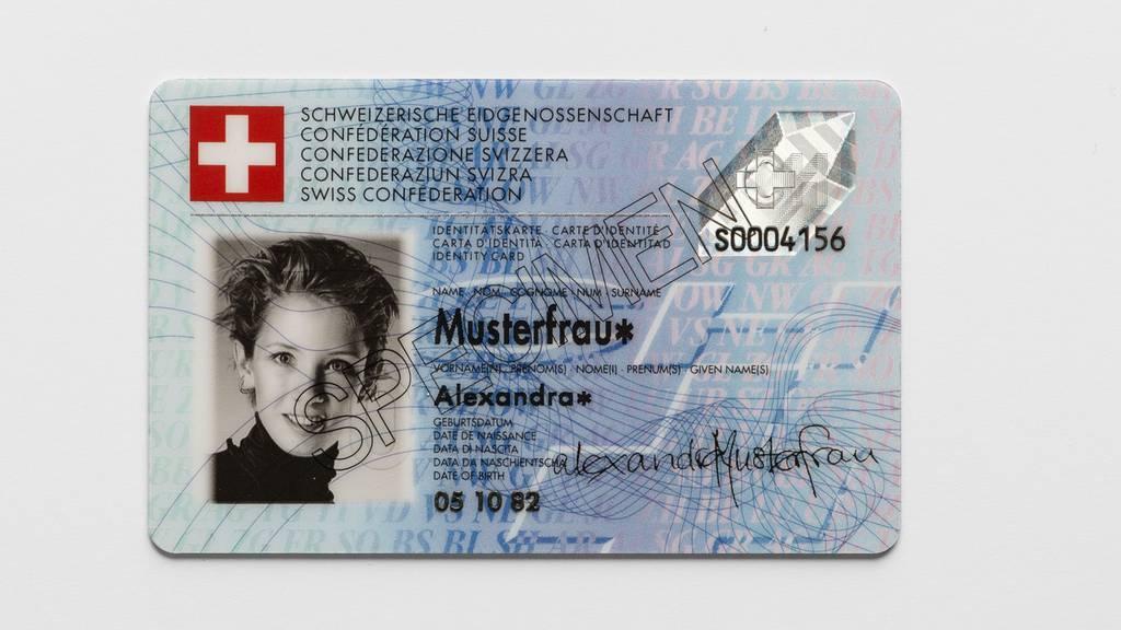 Schweizer Identitätskarte