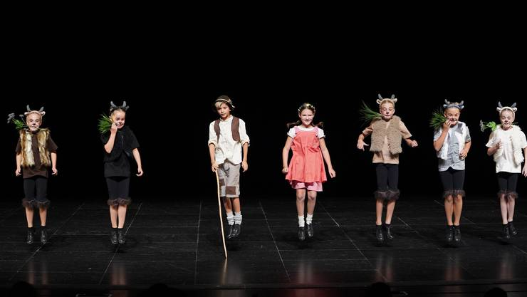 """Die Kinder Small Group """"Heidi"""" konnte sich die Goldmedaille sichern."""