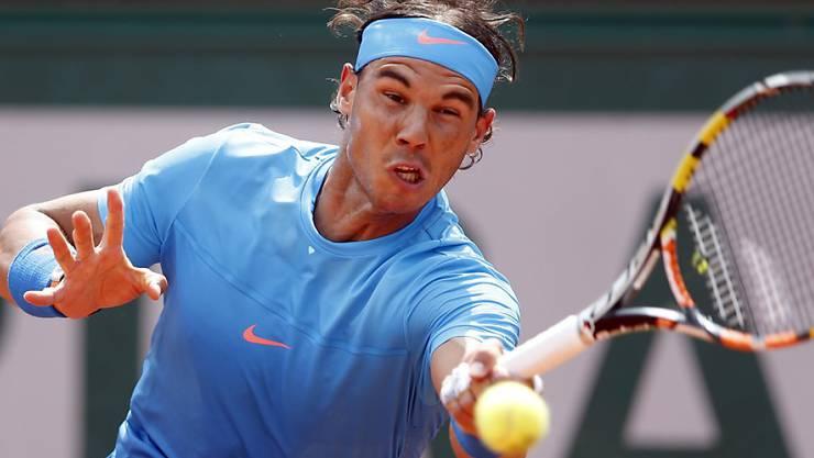 Nadal musste nicht leiden