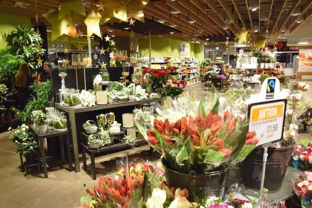 Die Blumenabteilung erhält mehr Platz
