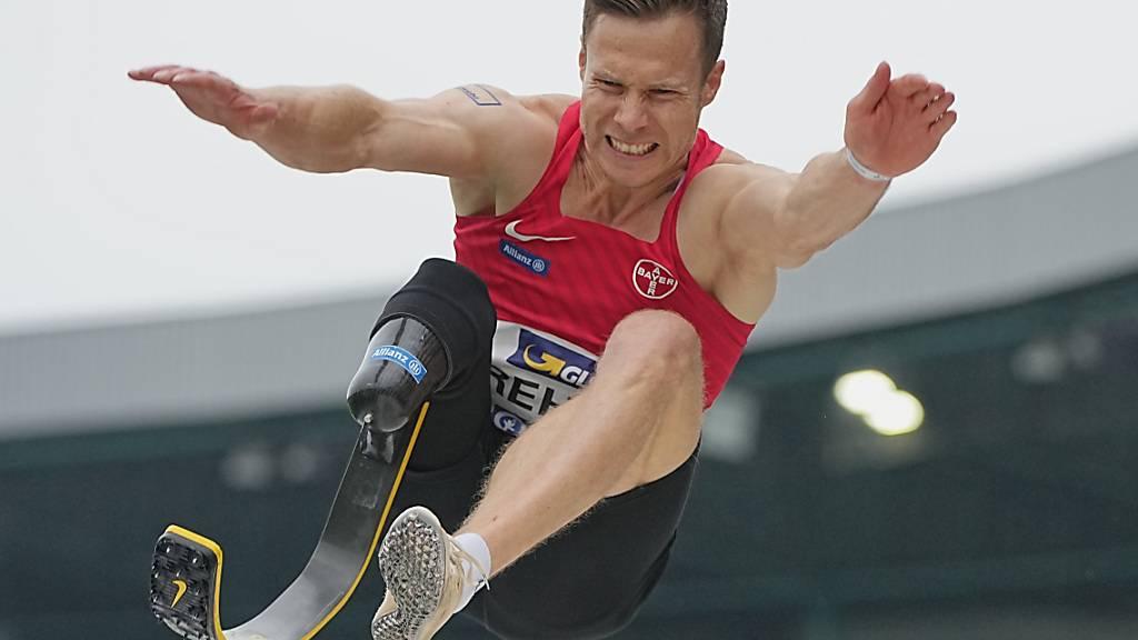 Der deutsche Weitspringer Markus Rehm, dem nach einem Unfall der rechte Unterschenkel fehlt, fühlt sich zu Unrecht von den Olympischen Spielen ausgeschlossen