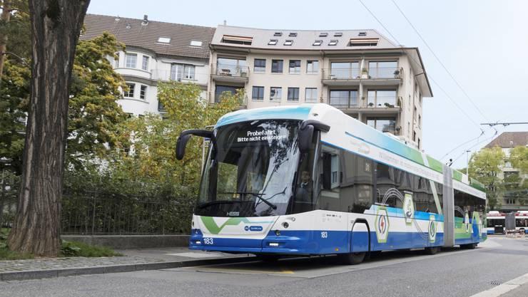Das Busmodell der Carrosserie Hess, das auch in Salzburg zum Einsatz kommen wird.