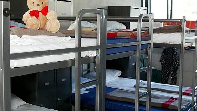 Blick in Empfangsstelle für Asylsuchende