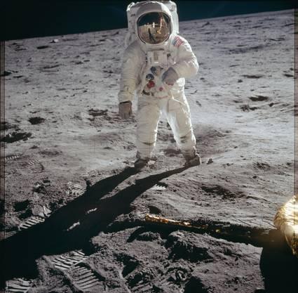 Buzz Aldrin betrat als zweiter Mensch den Mond.