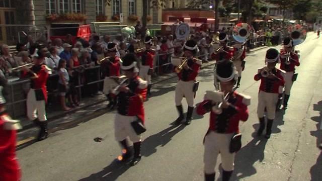 Eidgenössisches Volksmusikfest: Die Vorbereitungen in Aarau laufen auf Hochtouren.