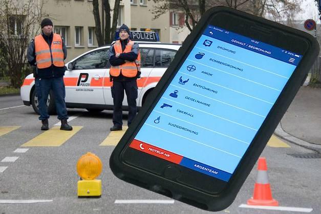 Die Notfall-App des Kantons