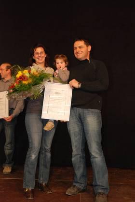 Familie Zimmermann aus Villigen