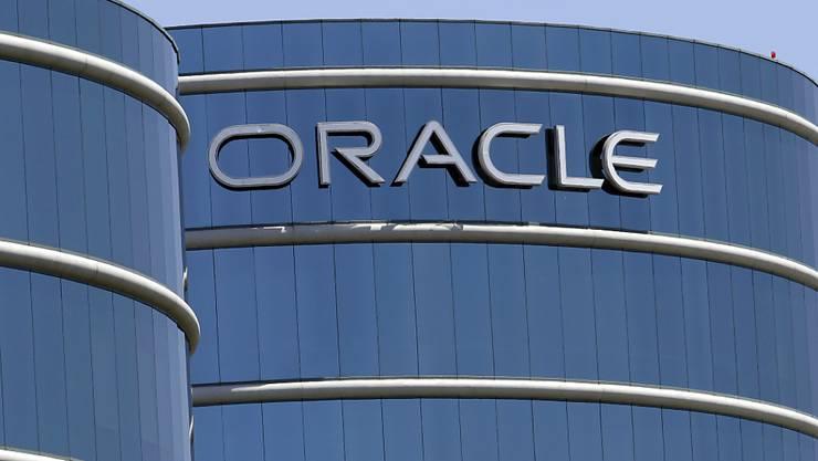 Oracle enttäuscht mit Gewinnausblick. Die Aktie ist unter Druck. (Archiv)
