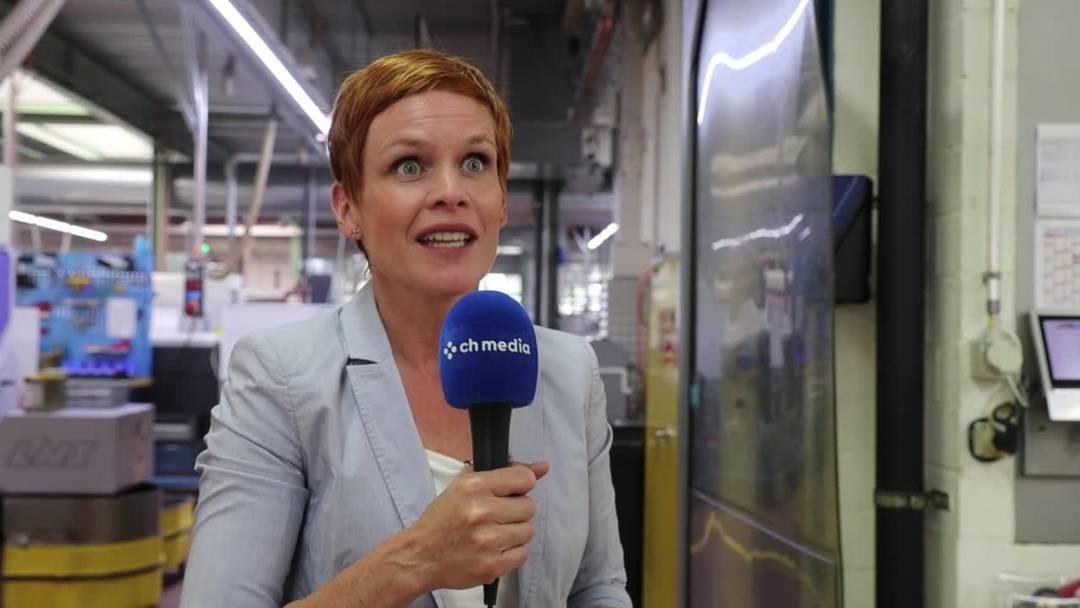 Sandra Boner als Gesicht der Nacht der Solothurner Industrie: «Es ist unwahrscheinlich spannend»