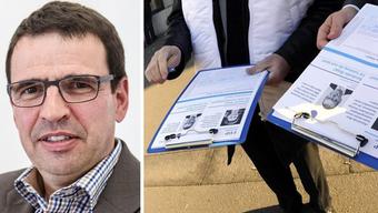 Matthias Jauslin ist mit seiner Motion zur Erhöhung der Unterschriften für Volksinitiativen abgeblitzt.