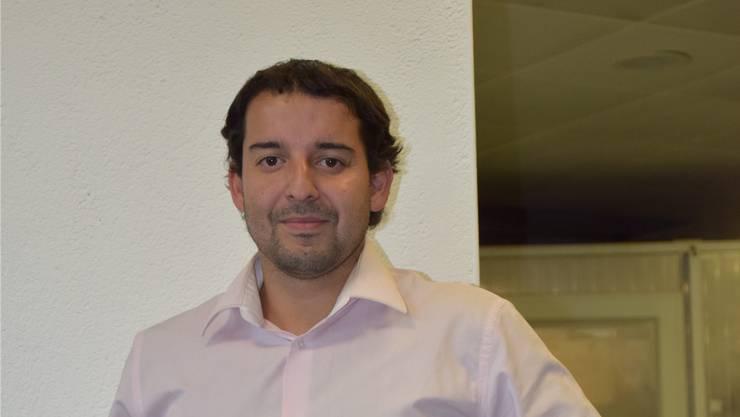 Seit der GV am letzten Freitag Präsident des FC Olten: Claudio Richard.