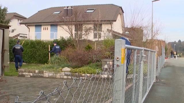 Die Haushälfte neben dem Tatort des Rupperswiler Vierfachmordes steht zum Verkauf.