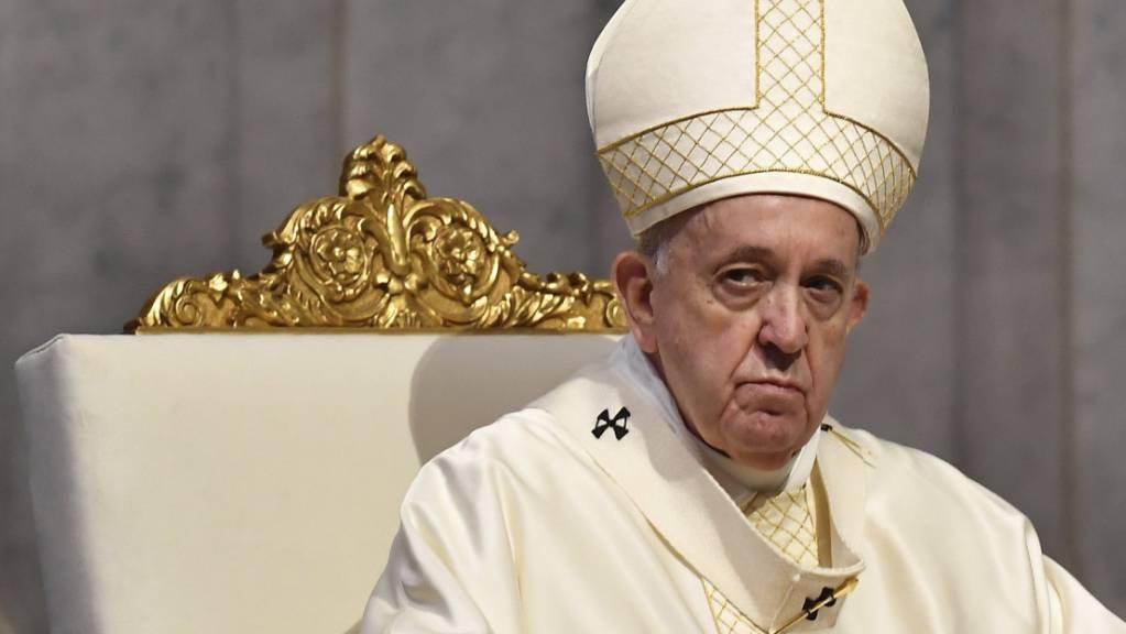 Papst Franziskus: «Der Sohn Gottes wurde als Ausgeschlossener geboren, um uns zu sagen, dass jeder ausgeschlossene Mensch ein Kind Gottes ist.»
