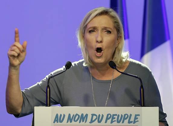 Marine Le Pen, EU-Abgeordnete und Chefin der rechtsextremen Front National (FN).