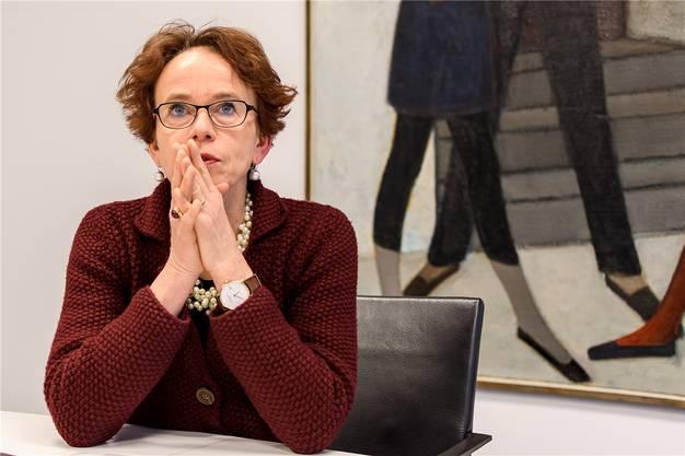 SP-Finanzdirektorin Eva Herzog konnte zugleich noch eine Steuervorlage im Stadtkanton durchbringen.