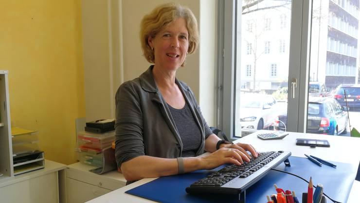 Berufsbeiständin Carmen Strassburg betreut zur Zeit 52 Personen. Manche seit elf Jahren.