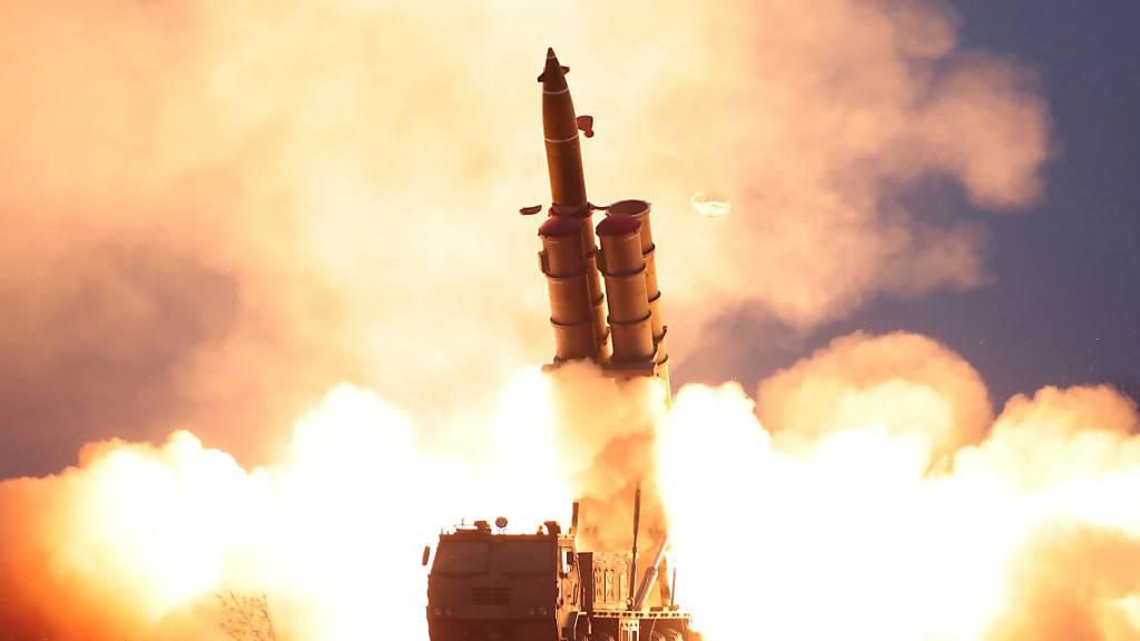 Kim Jong Un mit jüngstem Raketentest sehr zufrieden