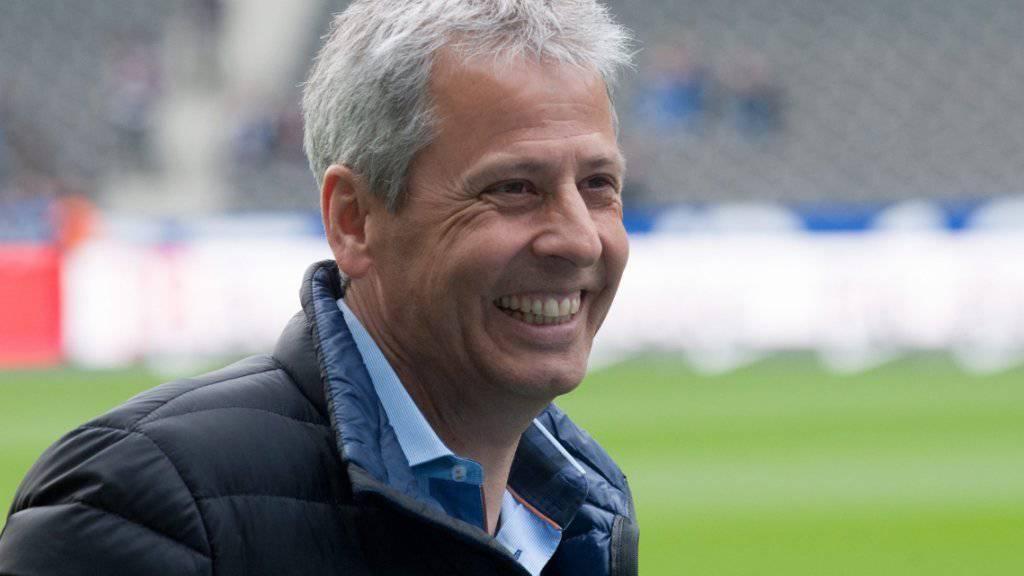 Kann sich Lucien Favre auf eine gute Zukunft in Nizza freuen?